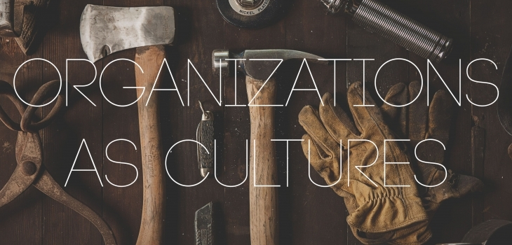 A Leader's Toolbox: Organizations as Cultures